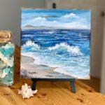 5 Day Mini-Canvas, Big Ocean Series Challenge!